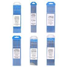 10pcs/set 175mm WL20 Lanthanum Tungsten Electrode Weld Rods for Welding Machine 1.0/1.6/2.0/2.4/3.0/3.2mm Diameter Tig Rods