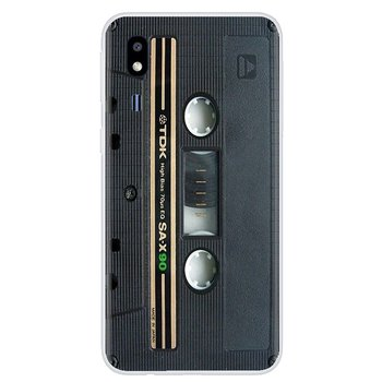 Lato retrò Vecchio Stile 3310 Nastro A Cassetta Del Silicone Della Copertura del Sacchetto Per Sony Xperia XA Z Z1 Z2 Z3 Z5 XZ1 XZ2 compatto M2 M4 M5 C4 C6 E3 T3