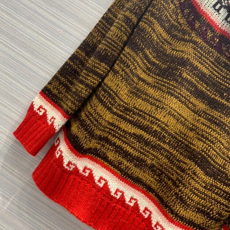 Dicken Pullover Frauen Winter Weihnachten Pullover Langarm Casual Pullover Strickwaren - 5