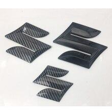 Авто Передняя решетка эмблема на багажник Стикеры для Suzuki Swift SX4 Vitara Alto s-крест Alivio логотип для автомобильного стайлинга автомобиля эмблемы н...