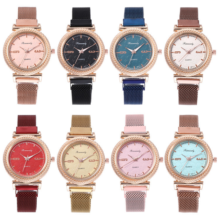 Milan Fashion Characteristics With Exquisite Series Bracelet Watch Dial Numbers Surface Scale Fashion Wrist Watch Joker