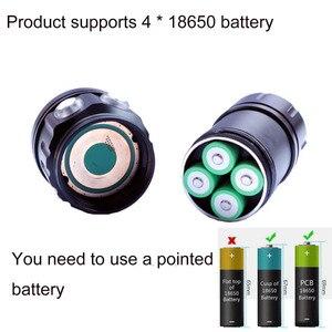 Image 4 - Linterna de buceo LED con cuentas XHP70/L2, 20000 lúmenes, antorcha táctica impermeable para iluminación de cámara de fotografía, novedad