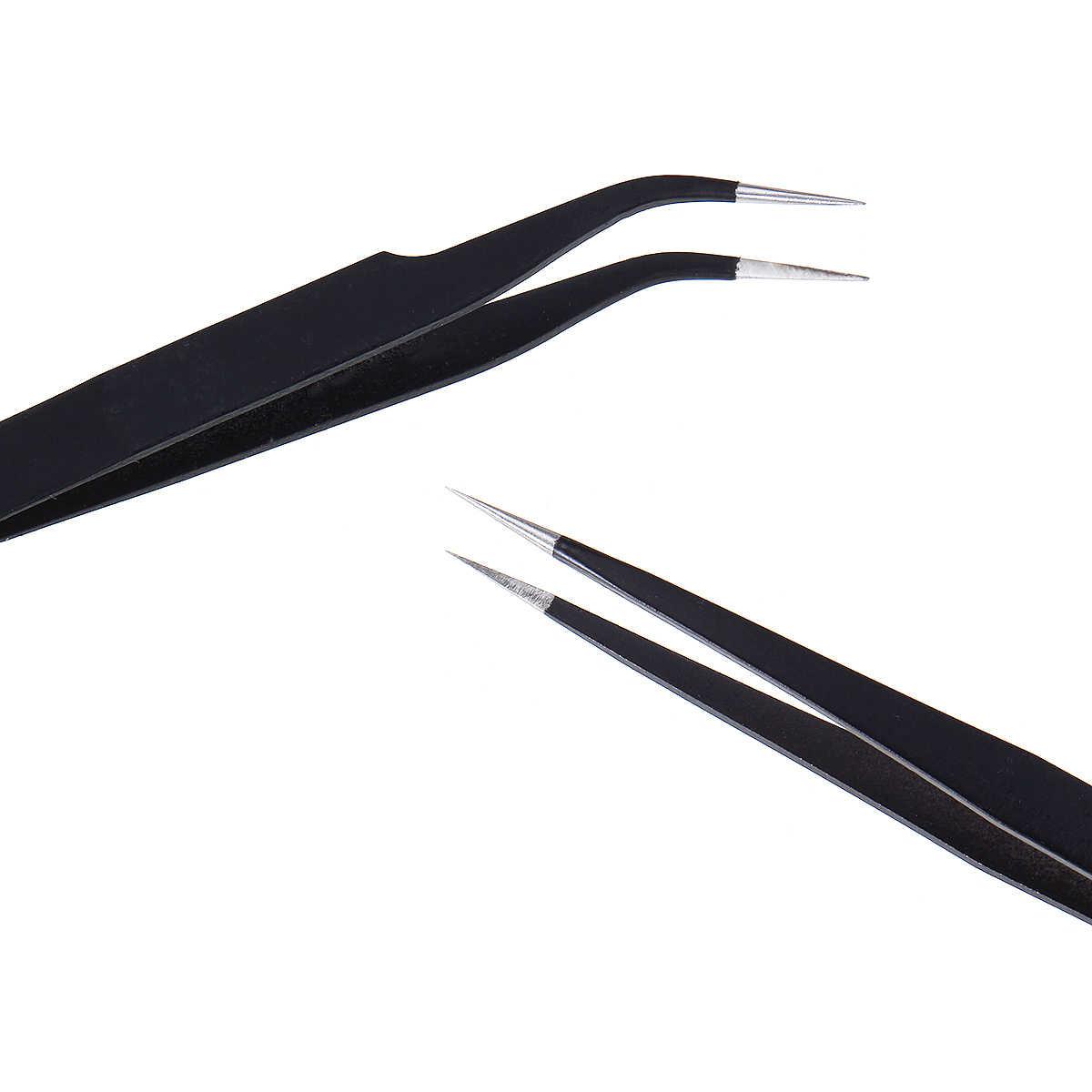 EU/US Plug 110V 220V 60W Thermoregulator Soldering Iron Kit Desoldering Pump Solder Wire 5pcs tips Portable Welding Repair Tool