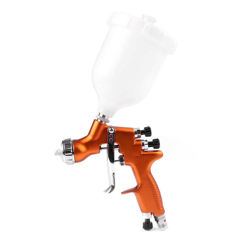 Para pintura de carrocería de coche 1x HD 2 HVLP Kit de pistola de alimentación de gravedad de aire 1,3mm boquilla de Reparación de Pintura herramienta - 3