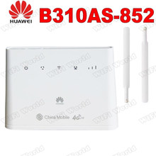 Huawei B310as-852 4G Lte Router B310 Lan Auto Hotspot 150Mbps Cpe Wifi Router Modem + 2 Stuks Antennes(China)