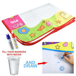 Toy Painting-Mat Playmats-Board Baby New 1 Doodle-Mat Magic-Pens Gyms Water-Drawing Kids