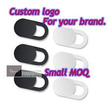 Özel logo webcam kapağı, cep telefonu deklanşör, özel logo cep telefonu len kapak bilgisayar len gizlilik Sticker