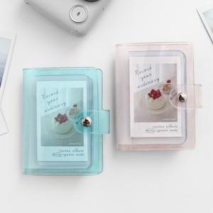 32 Capacity Mini Polaroid Photo Album maximum 3 inch (7.62cm) photocard