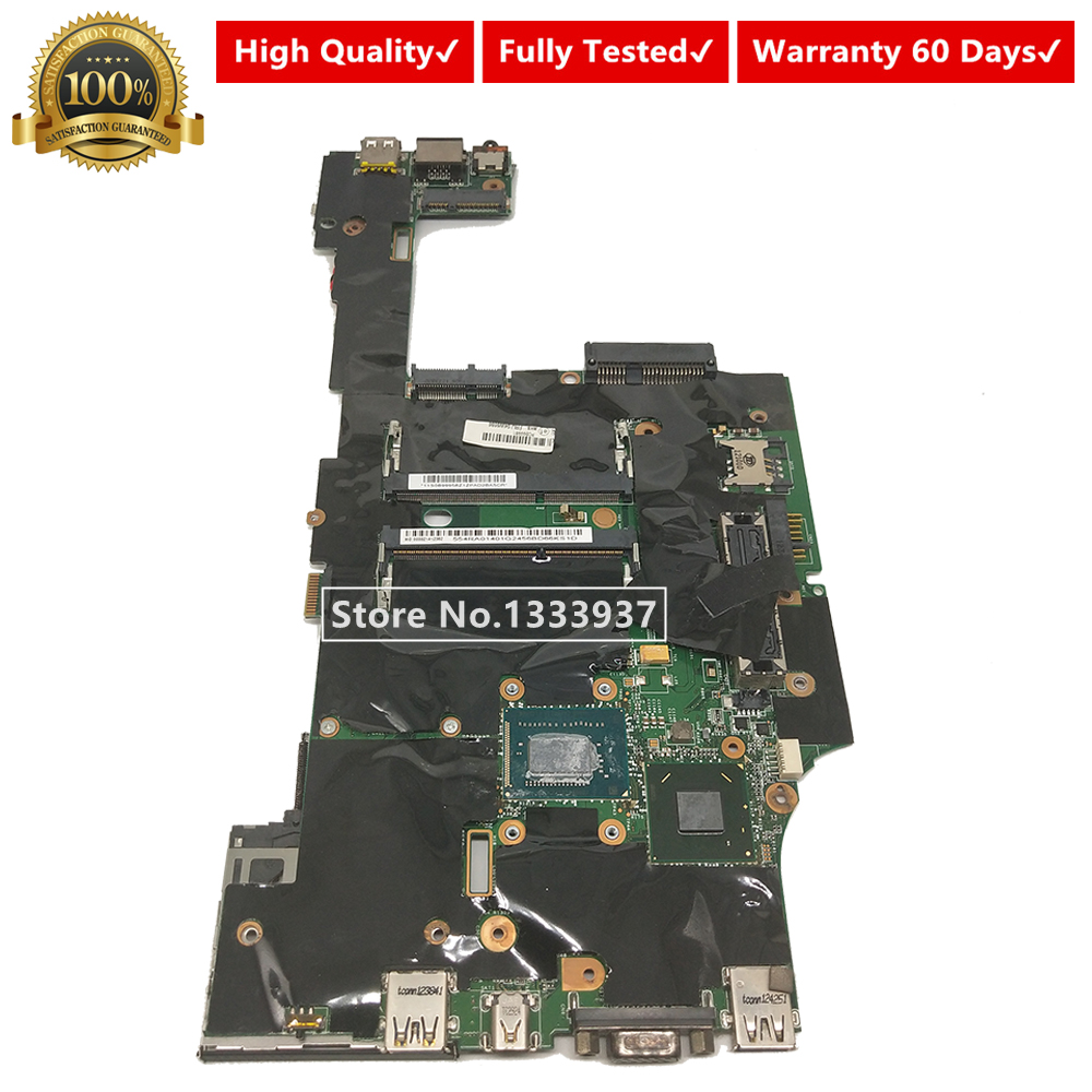 For LENOVO Thinkpad X230 Laptop motherboard 04W6686 SR0MY <font><b>i5</b></font>-<font><b>3320M</b></font> 554RA01401 11S0899956 Mainboard image