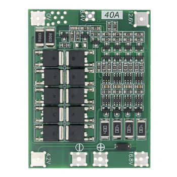 20pcs 4S 40A Li-ion Lithium Battery 18650 Charger PCB BMS Protection Board with Balance For Drill Motor 14.8V 16.8V - DISCOUNT ITEM  17% OFF All Category