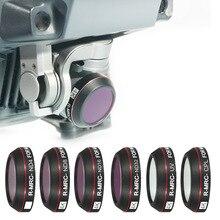 Lens filtreler Mavic Pro 4K UV CPL nötr yoğunluk kamera filtre seti DJI Mavic Pro Drone aksesuarları için yıldız ND 4 8 16 filtre