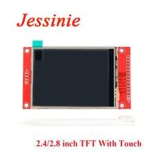 2.4 polegada 2.8 polegada cor tft lcd módulo de exibição 240x320 2.4