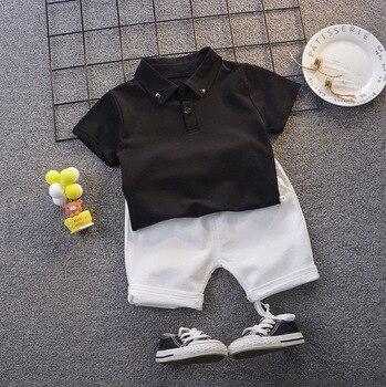 Pakaian Set Musim Panas Anak Lengan dan Celana Pendek 6