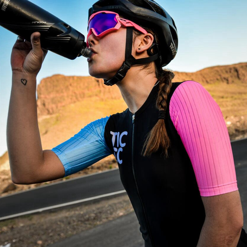 Ticcc Cycling Jersey Women 2020 Suitable For All Ages Bicycle Clothing Red Black Pink Ropa  Ciclismo Mujeres Short Sleeve Jersey