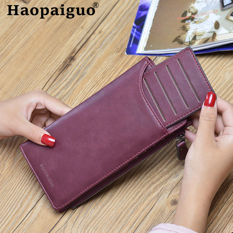 Women's Wallet Snap Coin Purse Phone Bag 5 Color Multi-card Bit Card Holder Purse Women Luxury Wallet Female Billetera Mujer