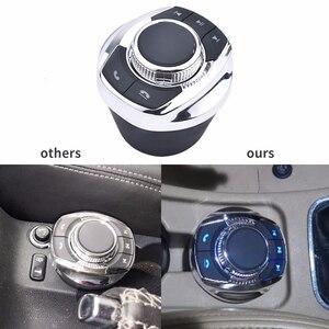 Image 5 - NS modyfikuj 8 klucz funkcji samochodu bezprzewodowy kierownicy przycisk sterowania kształt filiżanki z LED Light dla samochodów z systemem Android odtwarzacz nawigacyjny