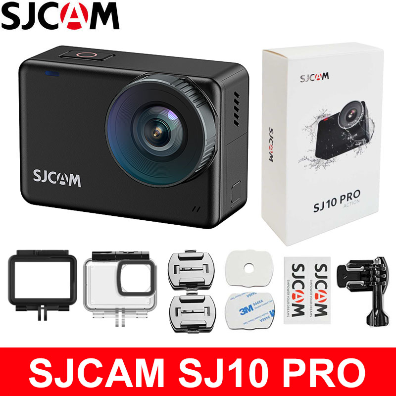 SJCAM SJ10 PRO Action Camera 4K 60FPS Ultra HD WiFi Ambarella H22 2.33 inch IPS TOUCH Screen Gyro EIS Live Streaming Sports Cam|Sports & Action Video Camera| - AliExpress
