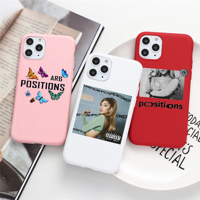 ARIANA GRANDE THEMED IPHONE CASE (18 VARIAN)