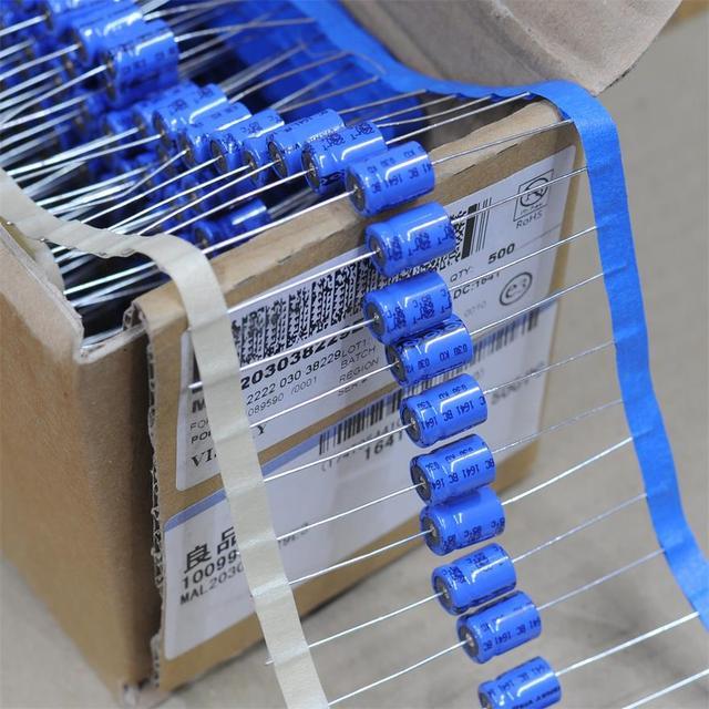 2 pièces livraison gratuite VISHAY BC 63V 22UF KO 030 condensateur électrolytique de fièvre axiale
