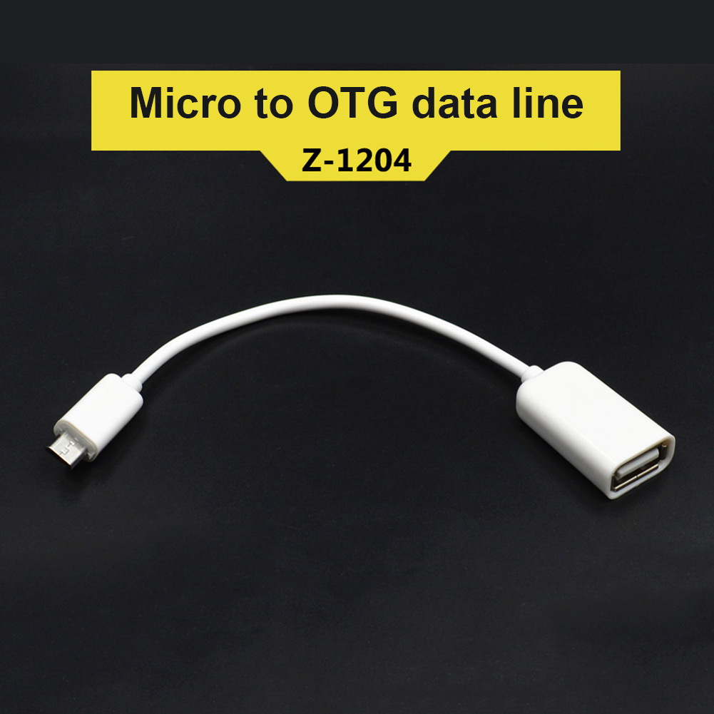 Micro USB OTG Cable Data Transfer Micro USB Male To Female Adapter For Samsung HTC Android GV99