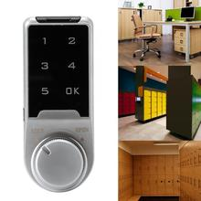 Electronic Combination Touch Screen Password Lock for File Cabinet Locker Mail Box door lock 10 sets intelligent electronic cabinet locker touch keypad password em card key for home swimming sauna pool gym em118