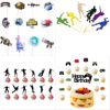 Fortnites Topper Birthday Cake Decoration Card Game Party Cake Flag  Fortress Night Party Cake Topper Flag Game Decoration Flag 1