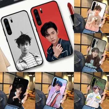 TFBOYS Jackson Yee band singer Phone Case For Huawei P 9 8 10 40 Mate 30 Honor 8 A 20 s 9x nova 6se 5t Y9s PSMART lite pro 2017 image