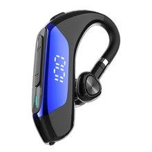 Новинка Bluetooth-гарнитура 5,0 наушники гарнитура со светодиодным дисплеем стерео 9D наушники-вкладыши для iPhone xiaomi
