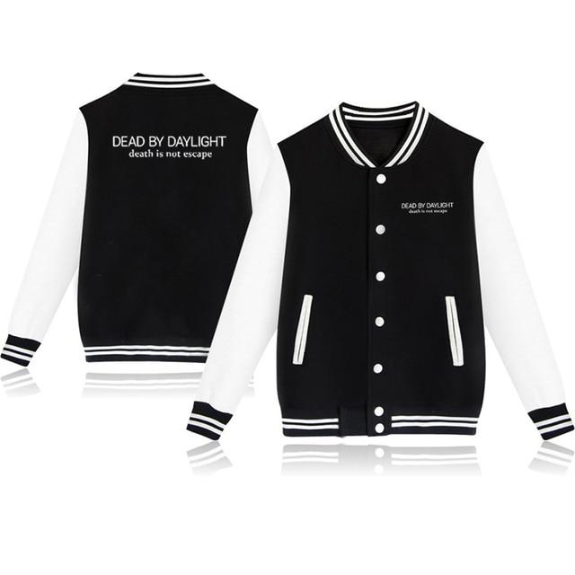 Unisex Fashion Baseball Jacket Dead By Daylight Baseball Uniform  Harajuku Sportswear Boys Girls Lovely Cotton Jackets Clothes 3