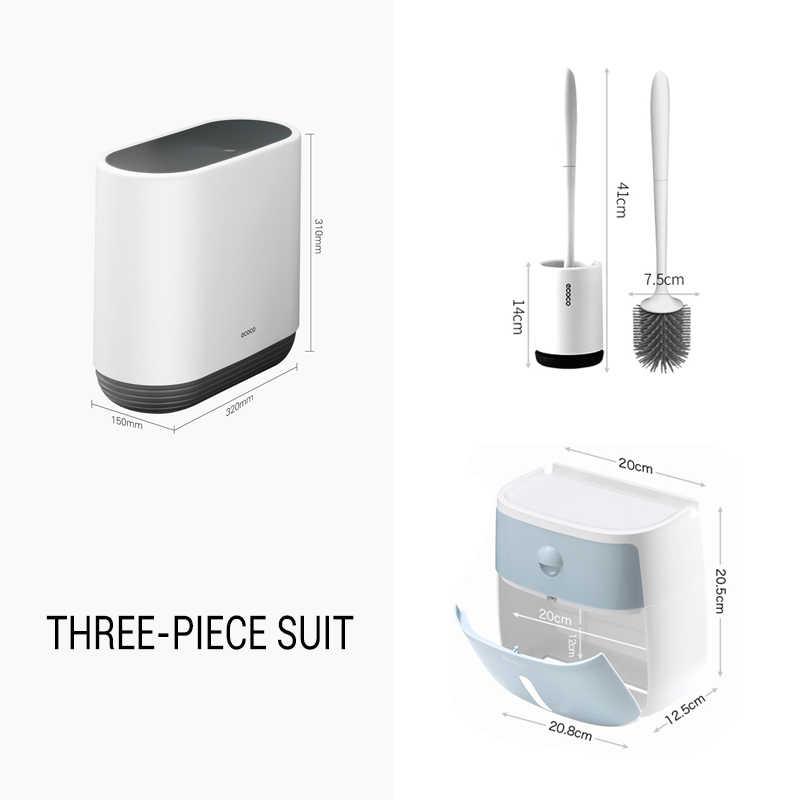 Набор для ванной комнаты TRP щетка для унитаза водонепроницаемый держатель для туалетной бумаги мусорная корзина для очистки инструмента и коробка для хранения аксессуары корзина для мусора