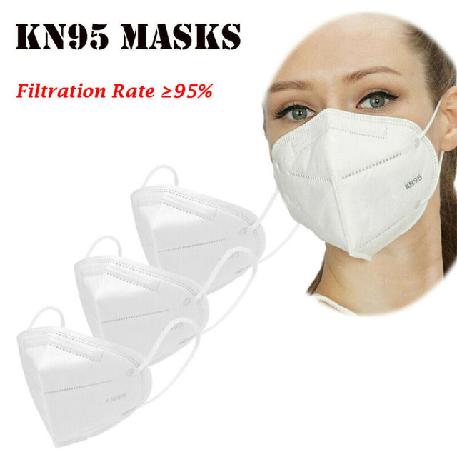 Non-woven Protective Face Mask Anti-flu Anti-dust Standard Proof Safety Shield Fast Shipping 2