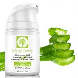 50ml Retinol Face Cream Vitamin C Vitamin E Moisturizing Cream Anti-Wrinkle Hyaluronic Acid Aloe Extract Whitening Cream TSLM2
