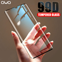 Cristal templado curvo 99D para Xiaomi Redmi Note 8 9S 7 Pro, funda protectora de pantalla para Mi Note 10 9 Lite 9T Pro vidrio pelicula mamparas protectoras