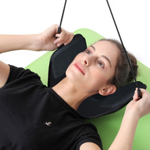 Neck Hammock for Head Neck Massage Pain Relief Relaxing Pillow Head Hammock Traction Device for Napping Sleeping Home Office