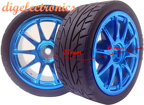 Robot Rubber Wheel DC Drive Gear Motor Tire Tyre Hex Coupling Shaft Hub Hexagonal For DIY RC Smart Car Part For Arduino STM32