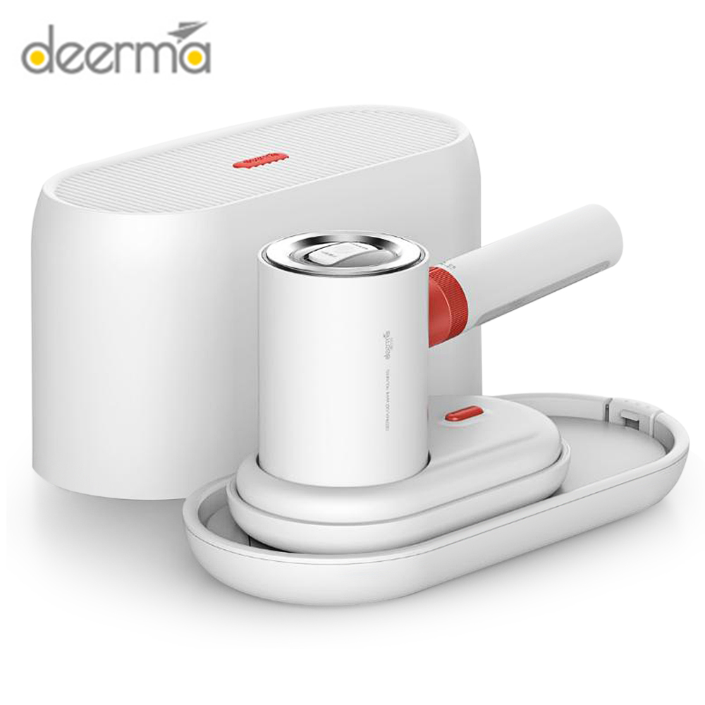 Newest Deerma HS200 2 In 1 Garment Steamers 1000W Portable Steam Ironing Machine Fast Clothers Wrinkle Removal 110ml Water Tank