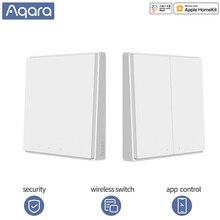 Aqara D1 Drahtlose Schalter Multifunktions Schalter Wand Licht Zigbee WIFI Steuer Drahtlose türklingel Smart home für xiaomi mihome