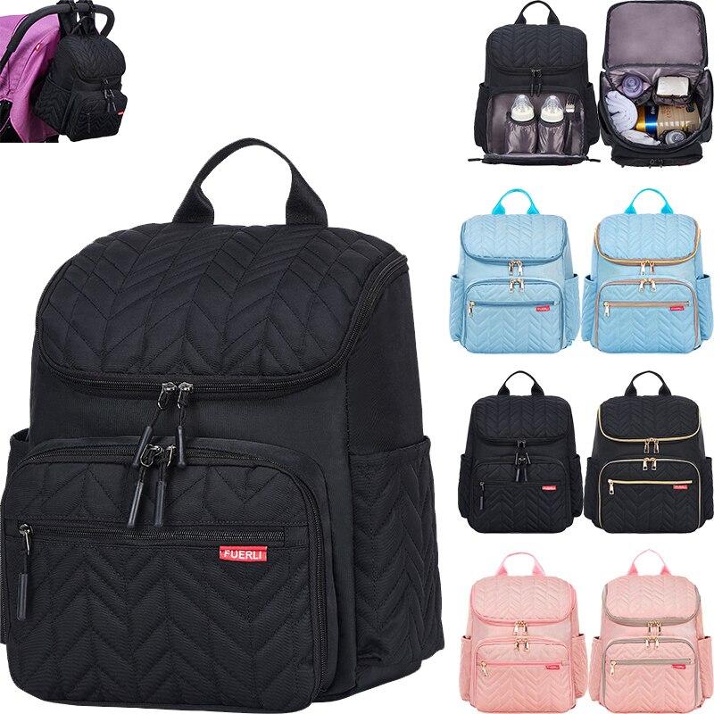 Multifunction Diaper Bag Large Capacity  Baby Mummy Maternity Bag Travel Backpack Waterproof Nursing Handbag Nappy Bag