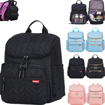 цена на Multifunction Diaper Bag Large Capacity  Baby Mummy Maternity Bag Travel Backpack Waterproof Nursing Handbag Nappy Bag
