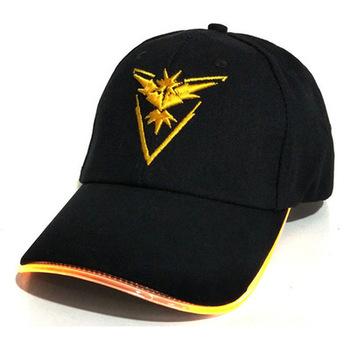 Anime kapelusz Pokemon Go kapelusz Unisex dla dorosłych bawełniana czapka baseballowa Hip Hop LED oświetlony kapelusz Pokemon kapelusz będzie świecić Cosplay akcesoria tanie i dobre opinie Dwayne Cartoon DOME COTTON