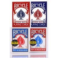 Синий/красный оригинальный велосипед игральные карты Rider Back стандартные колоды США издание покер карты