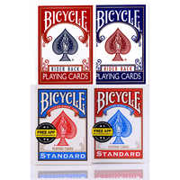 Blue/Red Original Bicycle Playing Cards Rider Back Standard Decks US Edition Poker Cards