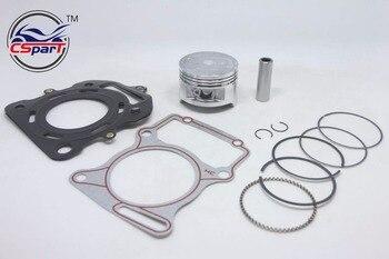 67mm 16mm Lifan Zongshen Loncin CG 250CC CG250 250 anillo de pistón Junta refrigerado por agua Quad ATV motocicleta