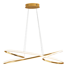 цена Minimalist personality ring restaurant simple golden creative bedroom study modern light luxury living room bar hanging lamp онлайн в 2017 году