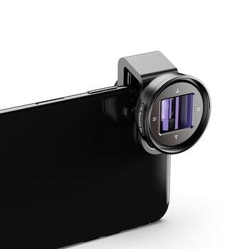 Lens for phone APEXEL 1.33x deformation widescreen VLOG video vibrato shooting universal thread external mobile phone movie lens