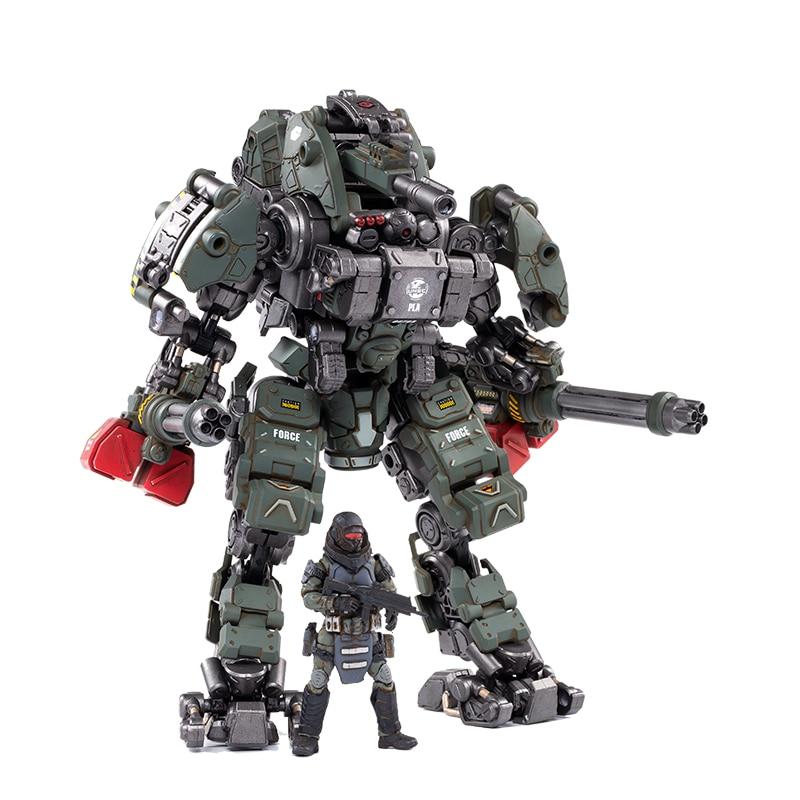 1/25 JOYTOY Action Figure Robot STEEL BONE ARMOR H05 Collection Figures Toys Gift For Men Model Toys