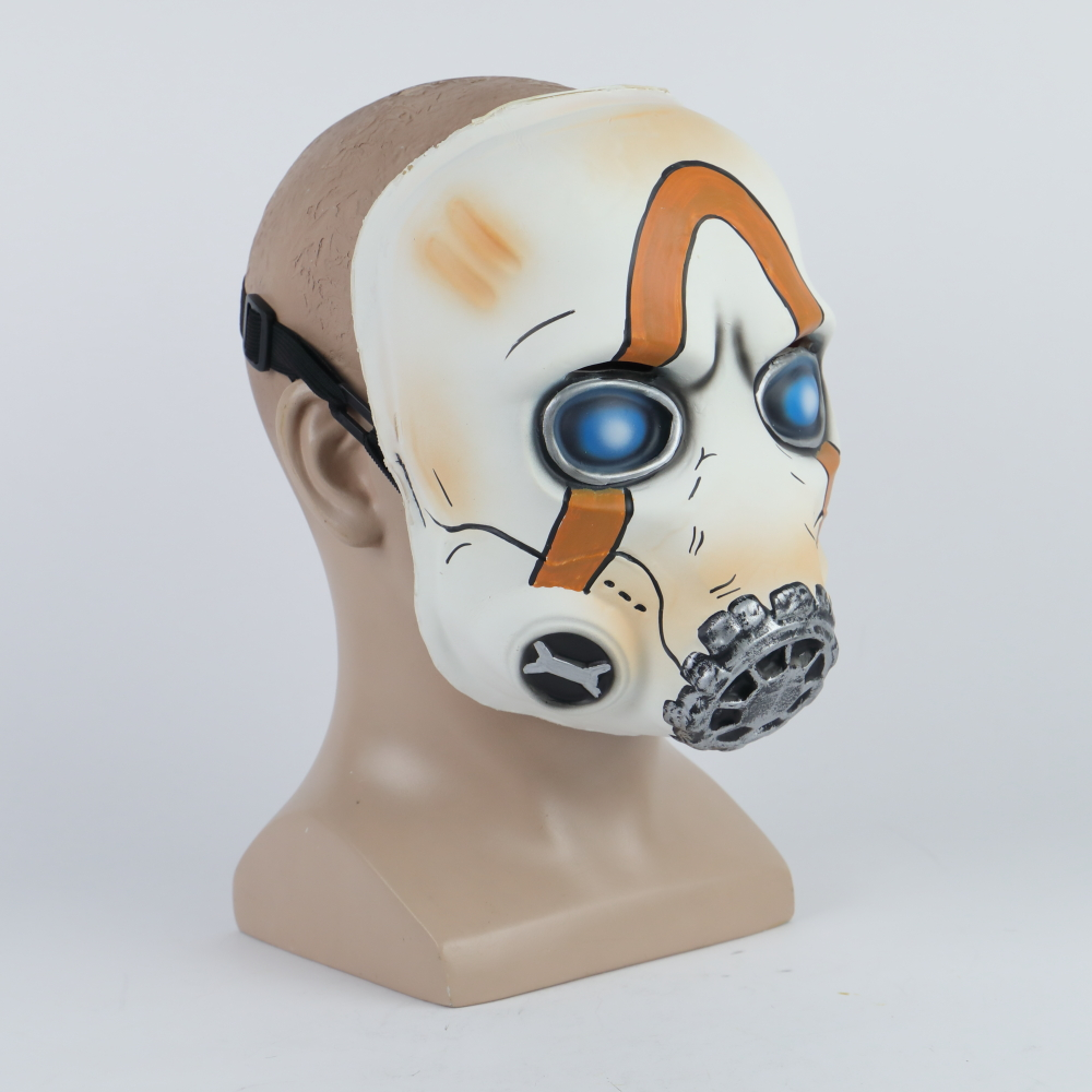 2019 New Game Psycho Mask Cosplay Psycho Latex Face Mask Halloween Cosplay Props LEDNo LED 2 Types Wholesale (3)