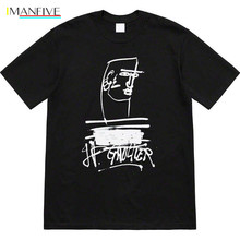 19ss Jean Paul Tee T Shirt Men Women 1:1 High Quality T-shirts Top Tees t shirt paul parker t shirt