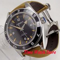 41 мм corgeut Miyota 8215 5ATM автоматические мужские часы с сапфировым стеклом супер светящаяся задняя Просвечивающая застежка