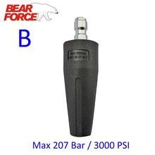 """Rotativa Sujeira Blaster Bocal Turbo com 1/4 """"Quick Release Plug Conector #035 forHigh Lavadoras de Pressão Máquina de Lavar Carro"""